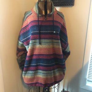 Venezia Sleeved Poncho Oversized Sweater 14/16